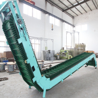 High Inclination-angle Conveyor Belt Being Shipped to India