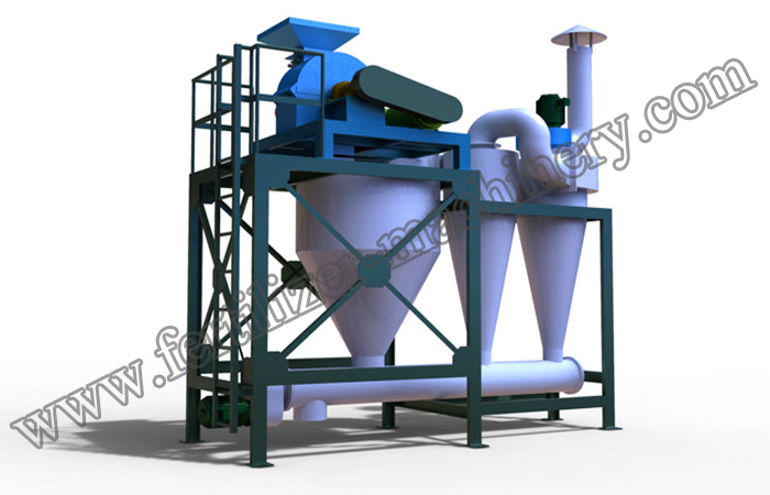 fertilizer crushing machine