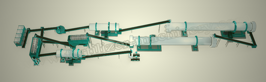 bio organic fertilizer production line