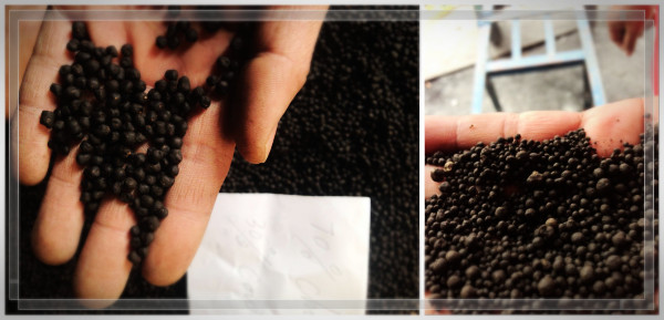 compound fertilizer production