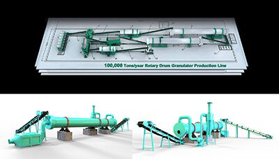 organic fertilizer production line plant